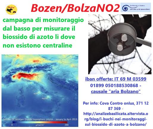 bozza volantino raccolta fondi BolzaNO2 scaricabile
